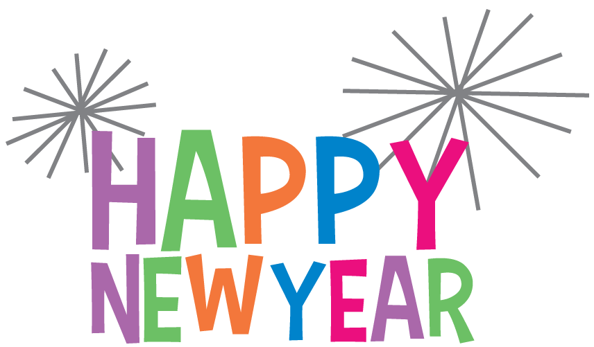 Free New Years Clipart Pictures! Fireworks, champagne, signs!