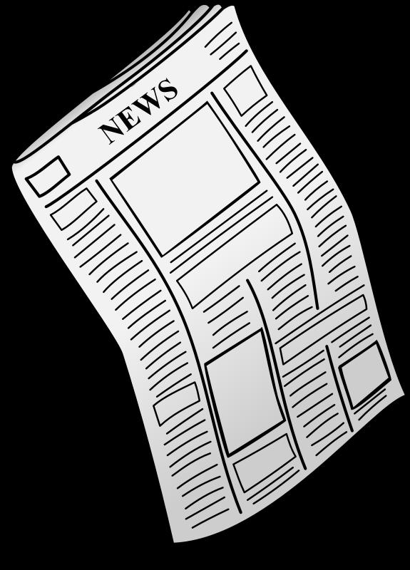 Free Newspaper Clip Art - Clip Art Newspaper