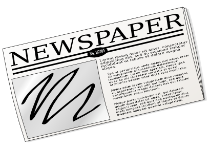 Free Newspaper Clip Art-Free Newspaper Clip Art-5