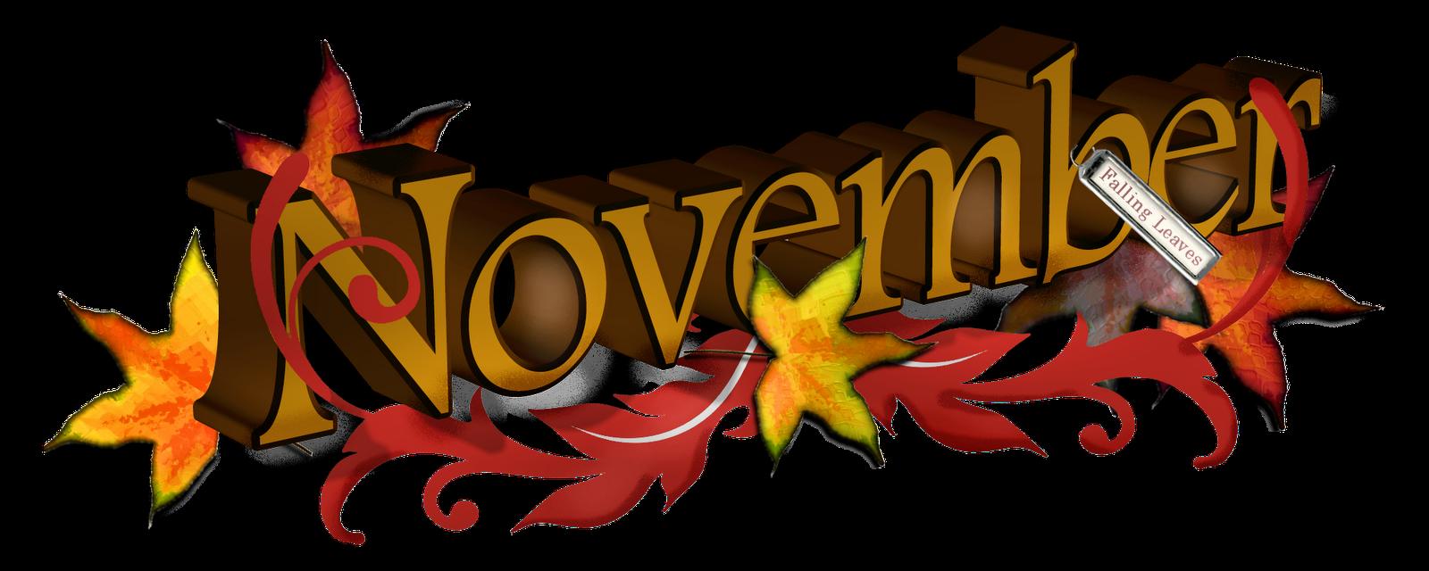 Free November Clipart - November Clipart