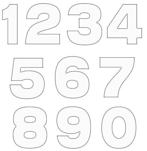 Free Numbers Clipart Free Craft Project -Free Numbers Clipart Free Craft Project Clipart-3