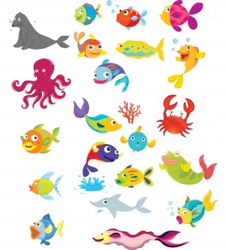 Free Ocean Animals Clipart