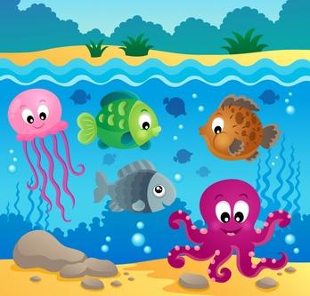 Free ocean clipart image