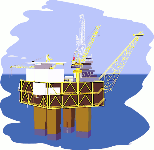 Free Oil Rig Clipart