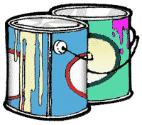 Free Paint Cans Clipart #1