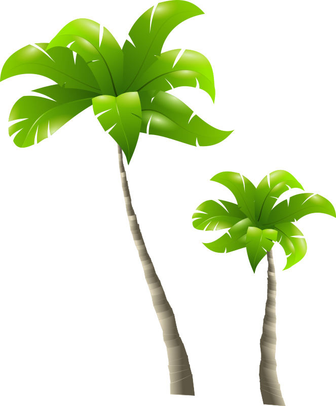 Free Palm Trees Clip Art
