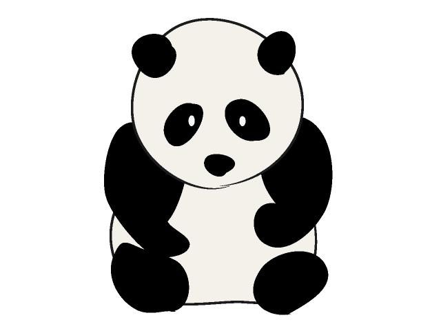Free Panda Clipart-Free Panda Clipart-5