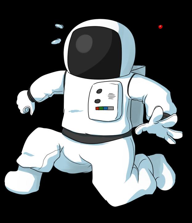 Free Panicking Cartoon Astronaut Clip Ar-Free Panicking Cartoon Astronaut Clip Art-11