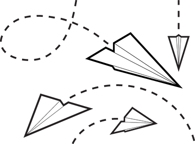 Free paper airplane clipart-Free paper airplane clipart-5