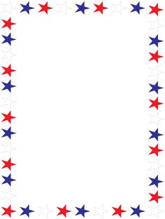 Free Patriotic Page Borders .