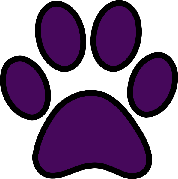 48+ Panther Paw Print Clip Art | ClipartLook