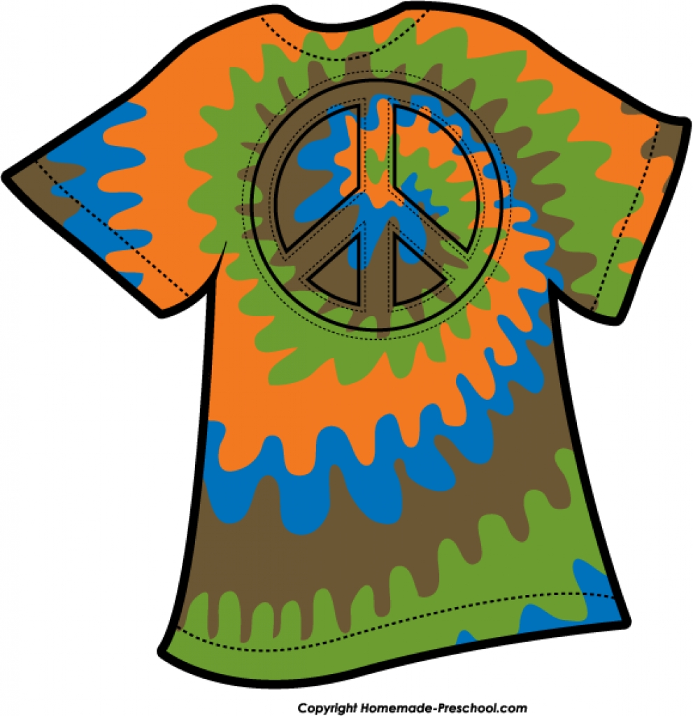 free peace sign clipart throughout tie dye t shirt clipart tie dye t shirt clipart