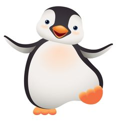 baby penguin cute clipart. Si