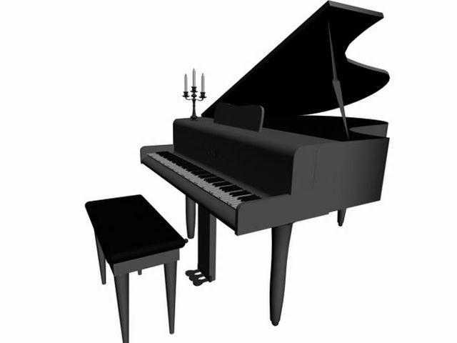 Free Piano Clip Art   Free Music Clip Art