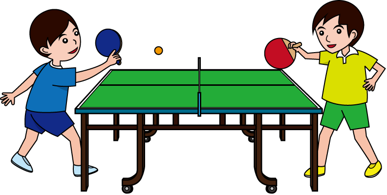Free Ping Pong Clip Art Line