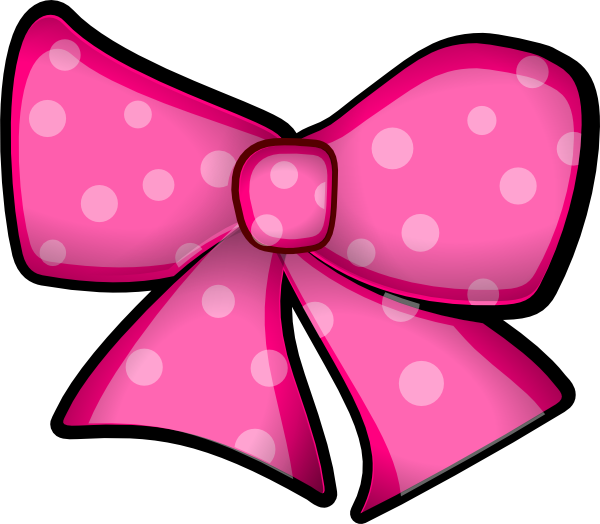 Free Pink Bow Clip Art-Free pink bow clip art-15