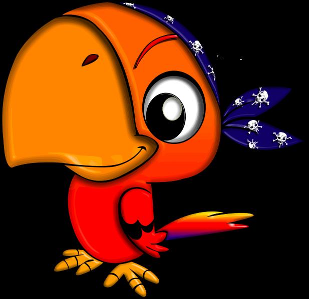 Free Pirate Parrot Clip Art