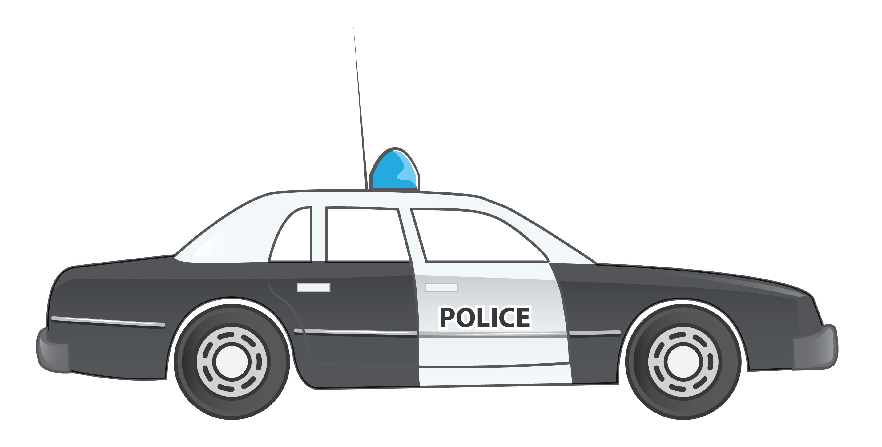 Free Police Car Clip Art