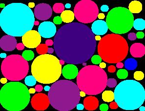 Free Polka Dot Border Clip Art