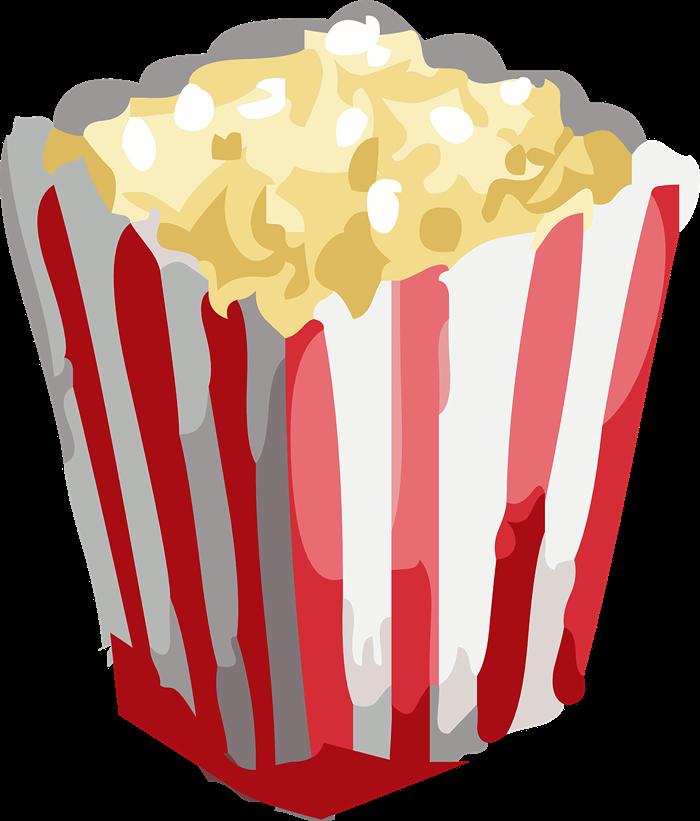 Free Popcorn Clip Art u0026middot; popcorn6