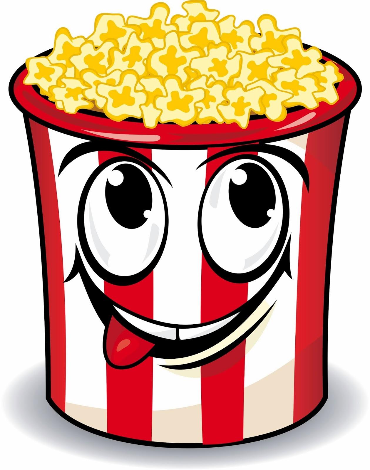 free popcorn clipart