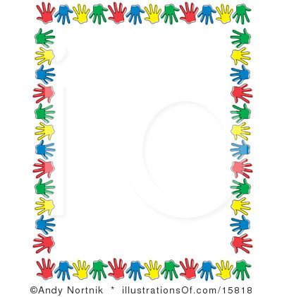 Free Preschool Clip Art | STATIONARY or SCRAPBOOK Border Paper to Save   Print