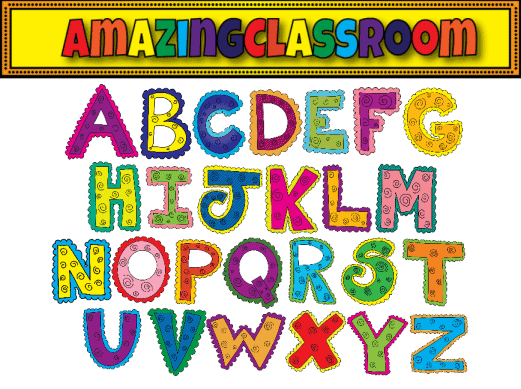 picture about Colorful Alphabet Letters Printable known as 83+ Alphabet Letter Clipart ClipartLook