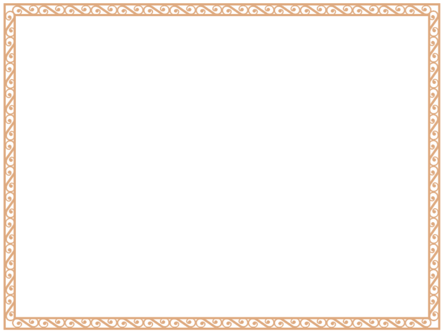 Free Printable Blank Certificate Borders - Clipart library