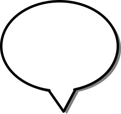 Free Printable Blank Speech Bubbles - ClipArt Best ...