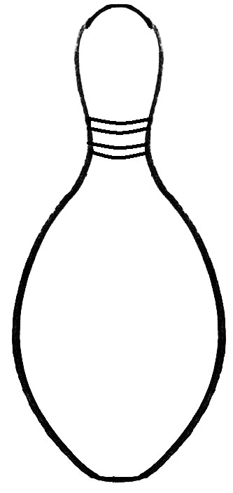 ... Free Printable Bowling Pin Template - ClipArt Best ...