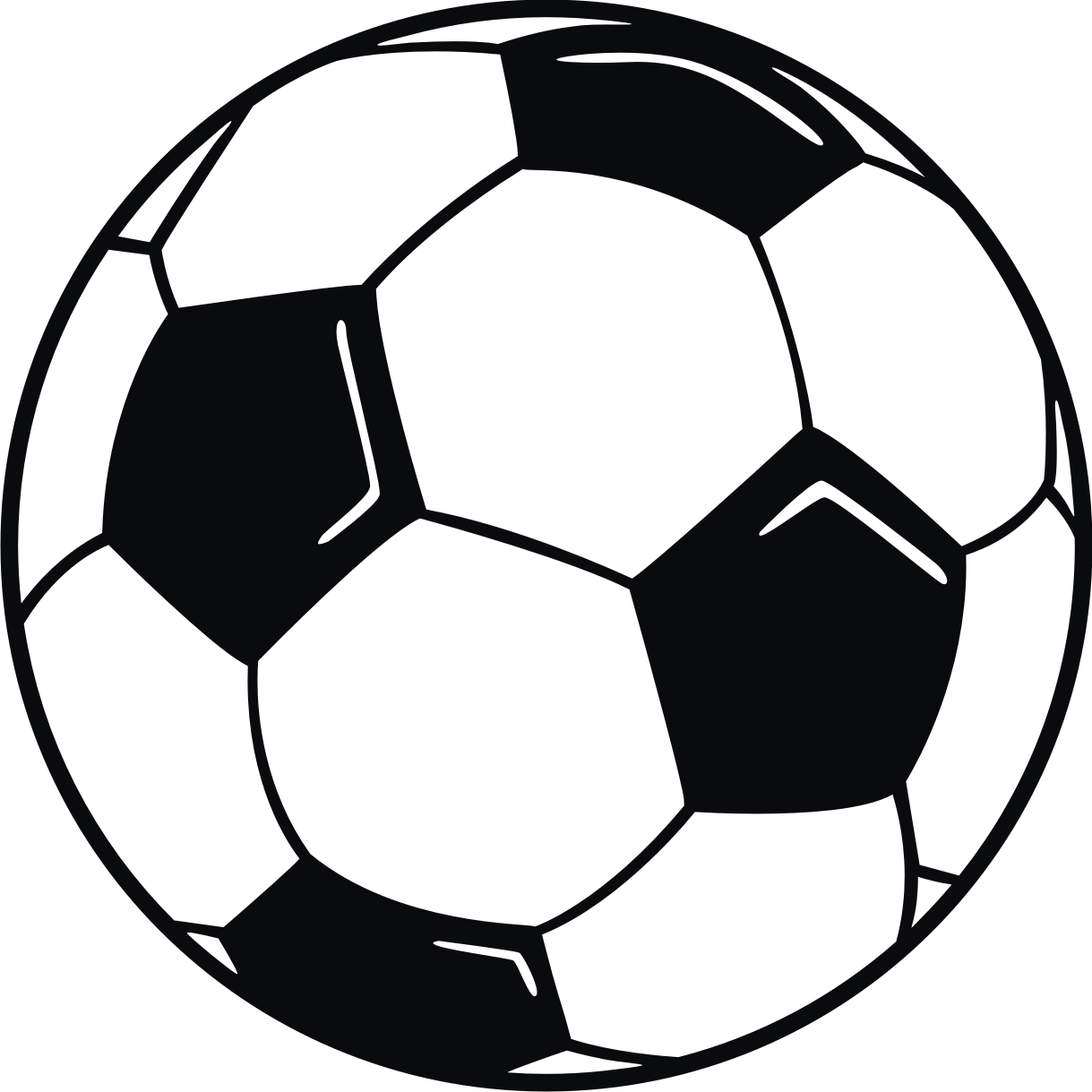 photo regarding Soccer Printable named 99+ Football Ball Clip Artwork Free of charge ClipartLook
