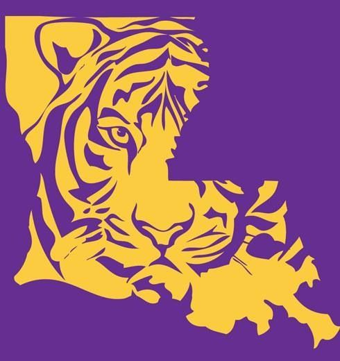 Free Printable Lsu Logo Clipart - Free Clip Art Images | LSU and Saints  logos | Pinterest | Louisiana, Logos and Caves