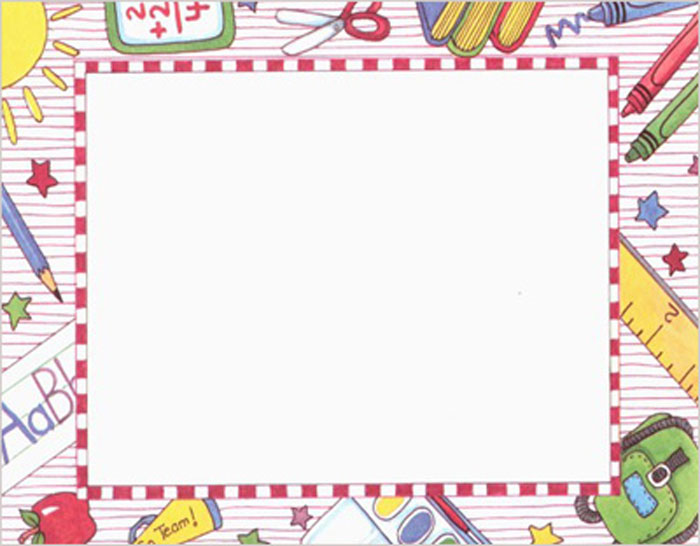 Free Printable School Borders Printablee-Free Printable School Borders printablee ...-2