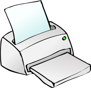 Free Printer Clipart-Free Printer Clipart-2