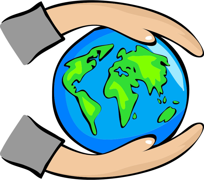 Free Protect the Earth Clip Art