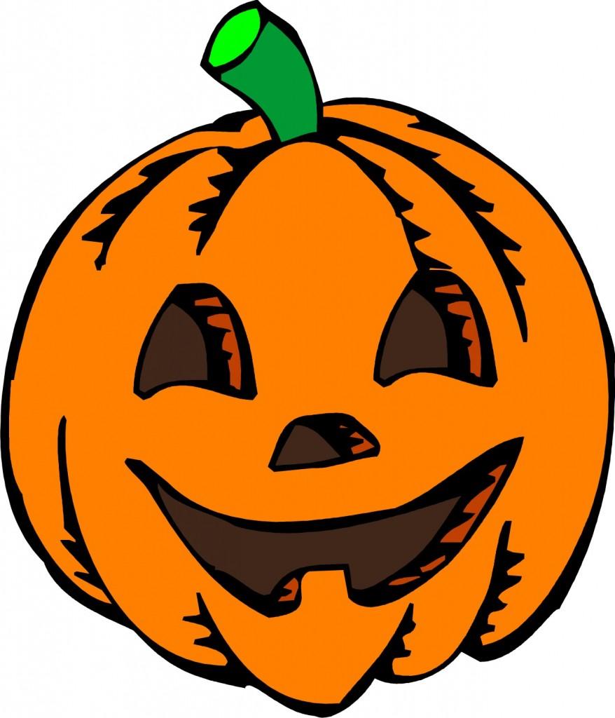 free pumpkin clipart. Cute Halloween Pumpkin Clip .