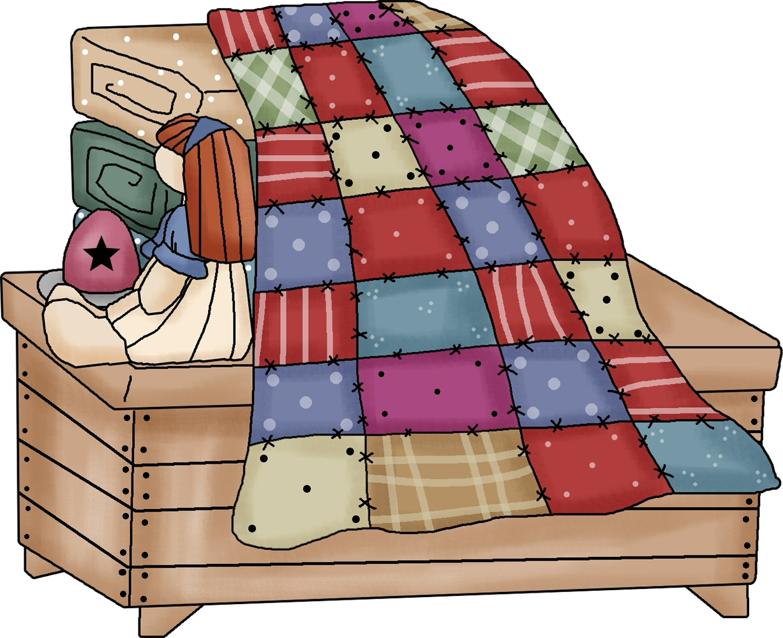 Free quilt clip art image
