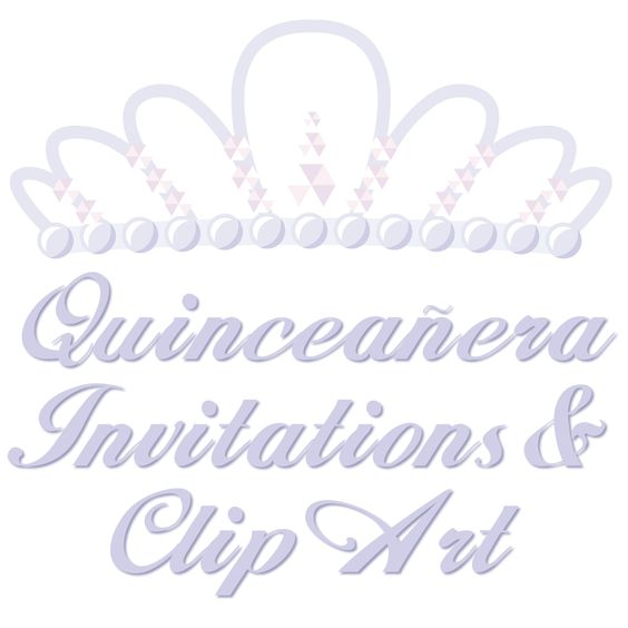Free Quinceanera Invitations Templates and Clip Art