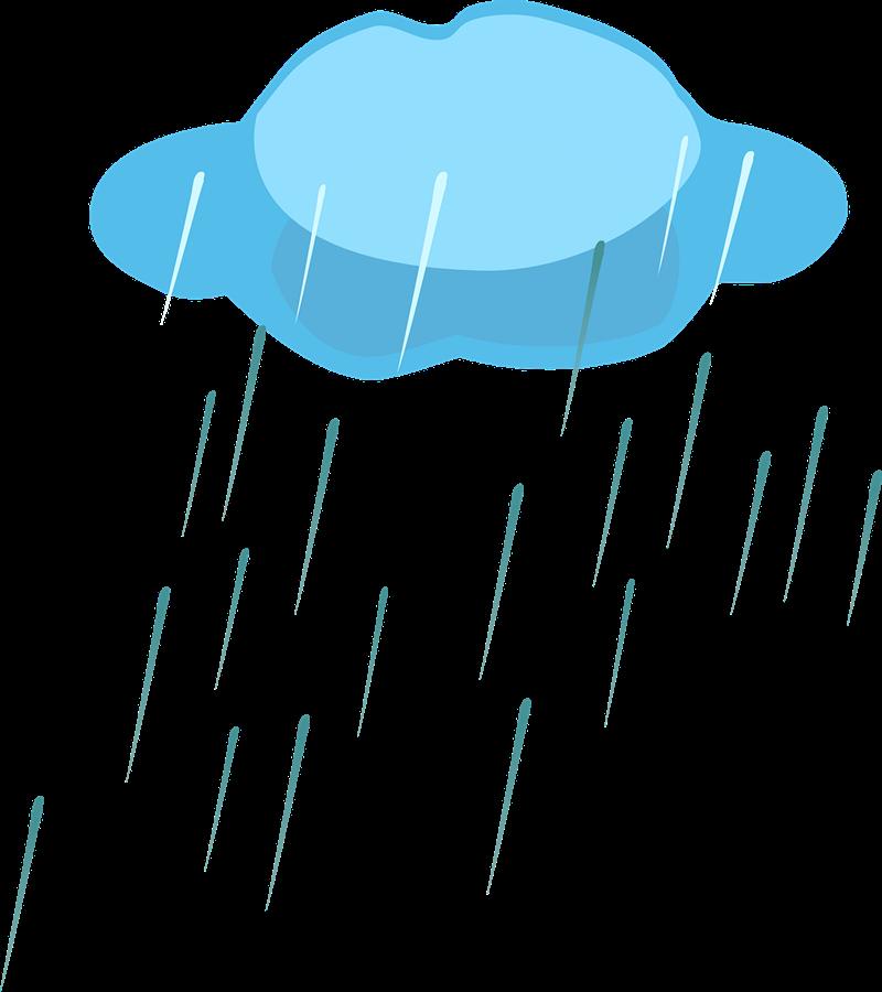 Free Rain Cloud Clip Art