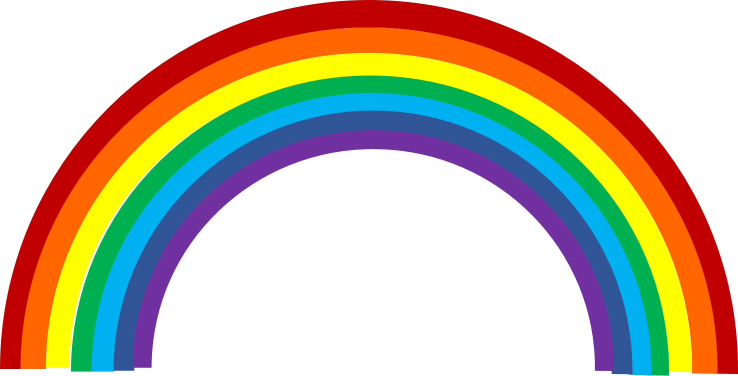 Free rainbow clipart the cliparts