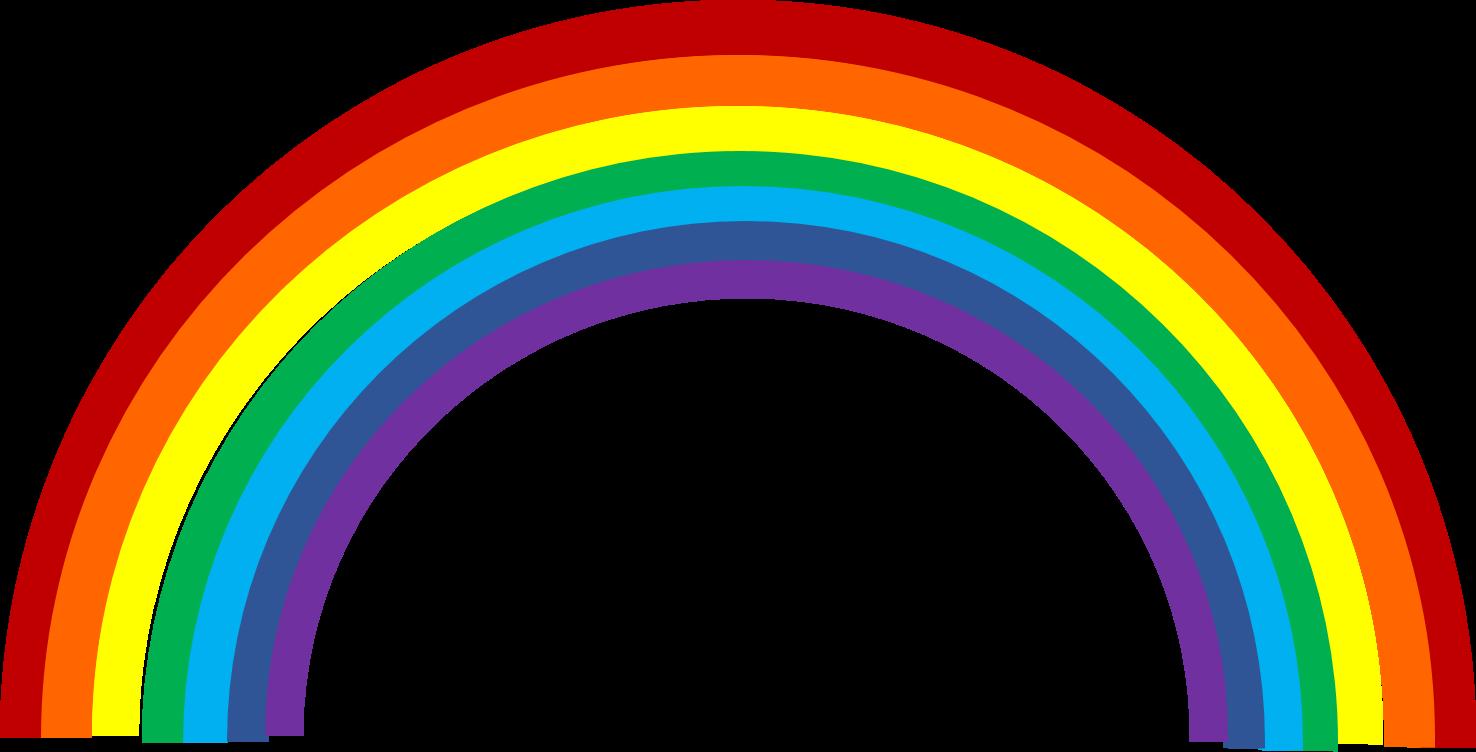 Free rainbow clipart the .