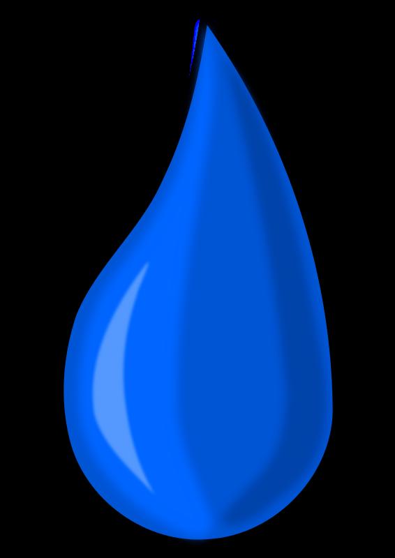 Free Raindrop Clip Art - Clipart Raindrops