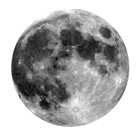 Free Realistic Moon Clip Art-Free Realistic Moon Clip Art-8