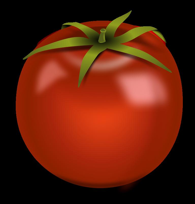 Free Realistic Tomato Clip Art