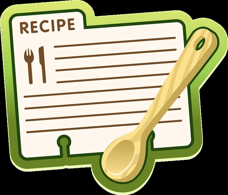 Free Recipe Sheet Clip Art ..-Free Recipe Sheet Clip Art ..-6
