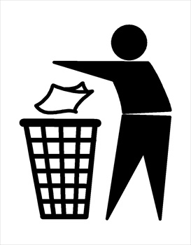 Free Recycling and Trash Clipart-Free Recycling and Trash Clipart-1