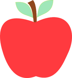 Free Red Apple Clipart Graphic