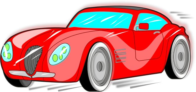 Free Red Sports Car Clip Art-Free Red Sports Car Clip Art-13