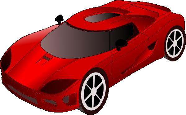 Free Red Sports Car Clip Art-Free Red Sports Car Clip Art-3