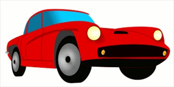Free Red Sports Car Clipart .